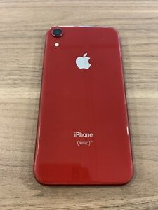 iPhone XR (PRODUCT)RED - 64GB - (Unlocked)
