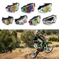 Lunettes de Protection Moto Cross VTT Scooter Motocross Anti-vent/Anti-poussière