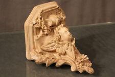 Console d'applique d'Eglise en plâtre patiné décor l'ange angelot fin 19e