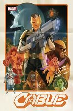 """Cable #1 24"""" x 36"""" Poster by Phil Noto NEW ROLLED 2020 Wolverine Marvel Comics"""