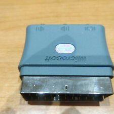 Cable audio video Microsoft XBox 360 con Euroconector incluido original