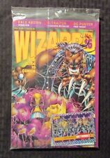 1993 WIZARD Comics Magazine #16 SEALED w/ Promo Card - Dale Keown Maxx Cover