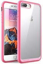 Slim Hybrid Protective Clear Cover Phone TPU Case for Apple iPhone 7 Plus Pink