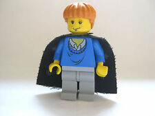 Lego RON WEASLEY Harry Potter Minifigure Blue Sweater, With Cape from set 4722