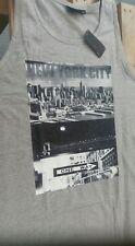 ESPIONAGE NEW YORK CITY PRINT VEST BIG KINGZSIZE 2XL3XL4XL5XL6XL7XL8XL