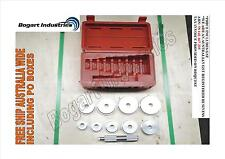 Bearing Race and Seal Driver Set, 10 PCS Laser Etch, Hydraulic Press Accessory *
