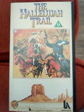 The Hallelujah Trail (1965) Burt Lancaster -  Vintage VHS Video  A++ Condition