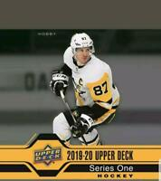 2019-20 Upper Deck Series One Clear Cut NHL Hockey Cards Pick From List