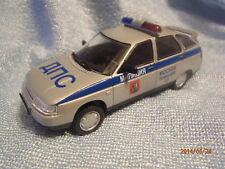 Police Russian Lada 112 - VAZ-2112 Mockba 1999 DeAgostini Model 1-43 Scale
