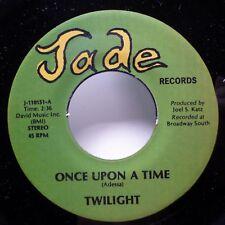 TWILIGHT 45 Once Upon A Time / Step By Step JADE Doowop NEAR-MINT c3152