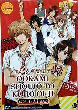 Wolf Girl and Black Prince (Chapter 1 - 13 End) ~ DVD ~ Okami Shojo to Kuro Oji