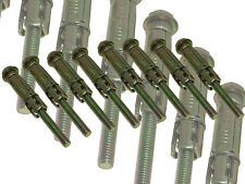 Am-Tech Trade Quality 8Pc Rawl Type Expansion Bolts M6 x 75mm Zinc Coated