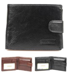 Golunski Branded Range leather Men's wallet / notecase with tab fastener