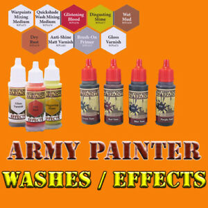 Army Painter Warpaint Quickshade Washes, Effects Free Shipping $35+ Mix & Match