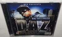 DAZ DILLINGER D.A.Z. (2011) BRAND NEW SEALED CD KURUPT SNOOP DOGG POUND ICE CUBE