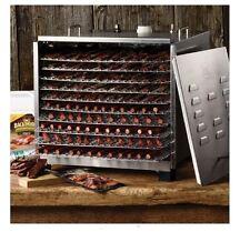 Ultra Quiet 10-Tier Food Tray Dehydrator Beef Jerky Maker Large Fruit Dryer Unit