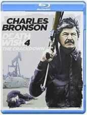 Death Wish 4: The Crackdown (Blu-ray Disc, 2012) - NEW!!