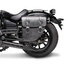 Sacoche de Selle Texas Honda Shadow VT 750 C/c2/c4 noir gauche