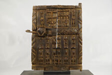 "Small Dogon Granary Door 16"" - Mali - African Art"