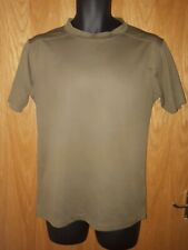 2 x British Army issued combat  t-shirt olive /brown. Size Medium
