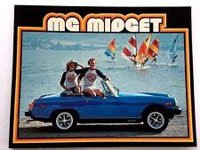1979 MG Midget Convertible Original Car Sales Brochure Catalog