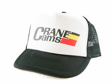 Crane Cams Drag Racing Trucker Hat mesh hat snapback hat black