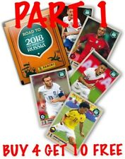 PANINI 2018 FIFA ROAD TO RUSSIA SINGLE STICKERS(2017) BUY 4 GET 10 FREE-PART 1