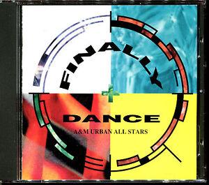 FINALLY DANCE A & M URBAN ALL STARS - MAXI VERSIONS - JAPAN CD COMPILATION [799]