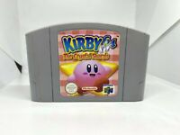 Kirby 64: The Crystal Shards N64 (Nintendo 64)  Authentic, Cleaned & Working!