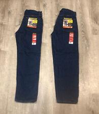 Wrangler Rustler Jeans Mens Regular Fit 33 x 30 Lot 2 Straight Leg Denim Work