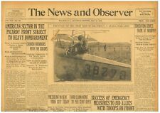 Airmail service Opens between New York and Washington, D.C. May 18 1918 B23