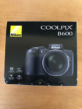 Nikon COOLPIX B600 Digital Camera with 60X Zoom Lens and Lowepro Camera Bag