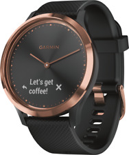 GARMIN vivomove HR Sport Damen-Smartwatch S/M Rosé/Schwarz #1207067