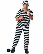 Rubie's Convict/Prisoner/Inmate Dress Costumes