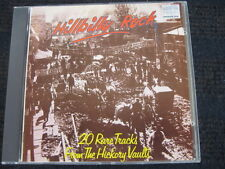 CD  Hillbilly Rock  20 Rare Tracks from the Hickory Vaults  Al Terry Jack Turner