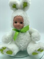 Doll Dressed, Rabbit, Doll, Toy Bunny, 33cm Tall (13'), White, New