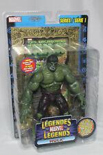 "Toybiz Marvel Legends Series 1 The Hulk 7.25"" Action Figure MOC Canadian 2002"