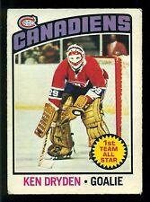 1976 77 OPC O PEE CHEE #200 KEN DRYDEN AS EX MONTREAL CANADIENS HOCKEY CARD