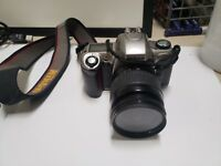 Nikon N65 camera with lens  af nikkor 28-80mm