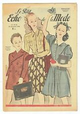 Le Petit Echo de la Mode du 22 Septembre 1946 - French Fashion