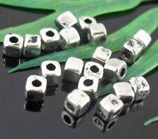 Free Ship 100Pcs Tibetan Silver Spacer Beads 3mm