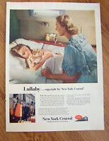 1953 New York Central Railroad Ad  Lullaby  Copyright by New York Central