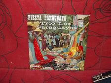 fiesta paraguaya -  trio los paraguayos - disque philips n° 428 123