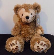 Pre Duffy The Disney Bear Plush Hidden Mickey Mouse Tan Brown Teddy Caramel