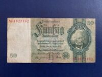 GERMANY - 50 MARK 1933 -  NAZI ERA- VERY FINE