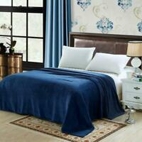 Warm Throw Super Soft Plush Velvet Blanket Sofa Home Bed Fleece Twin Queen King
