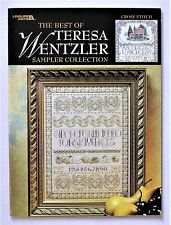 ✔️ Sampler Collection Best of Teresa Wentzler Cross Stitch Pattern Book 9 Charts