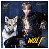 """The Rose WooSung 1st Mini Album """"WOLF"""" Official - 1 Photobook + 1 CD / Free Ship"""