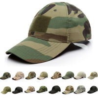 Men Tactical Operator Baseball Hat Military Army Special Forces Airsoft Camo Cap