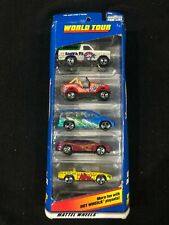 HOT WHEELS Mattel Wheels World Tour  5 PACK 1998 Gift Pack Brand New in Box